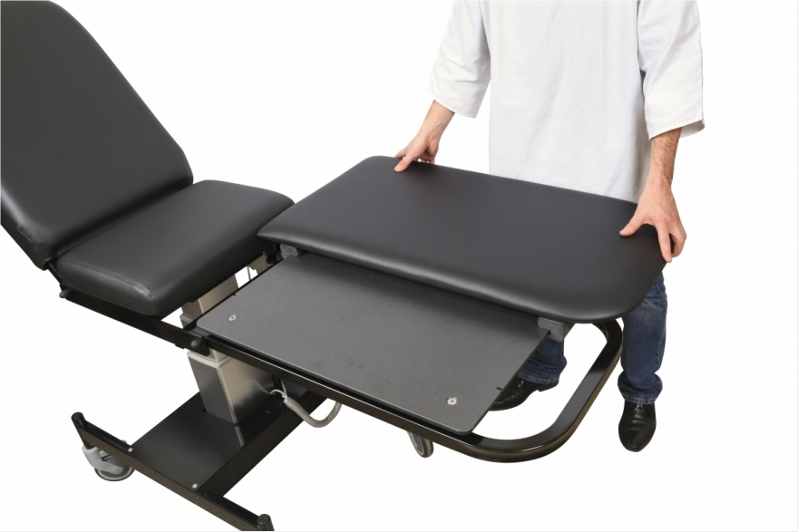 LDA® Couch: Movable Leg Plate